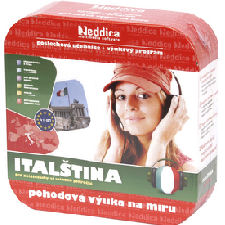 EDDICA Italština do ucha - pack 5CD